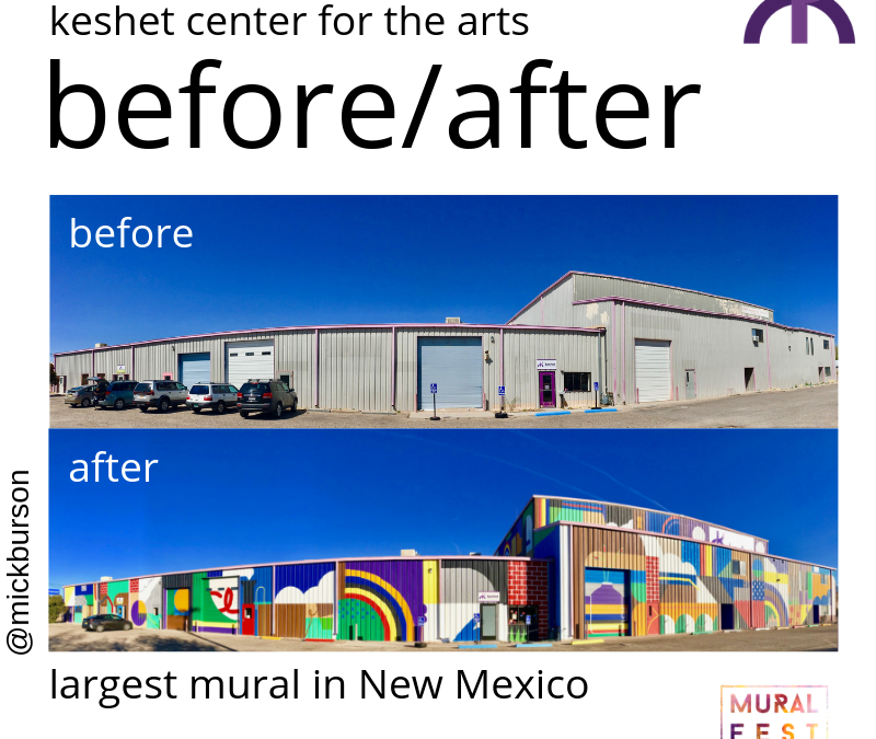 Largest Mural in New Mexico